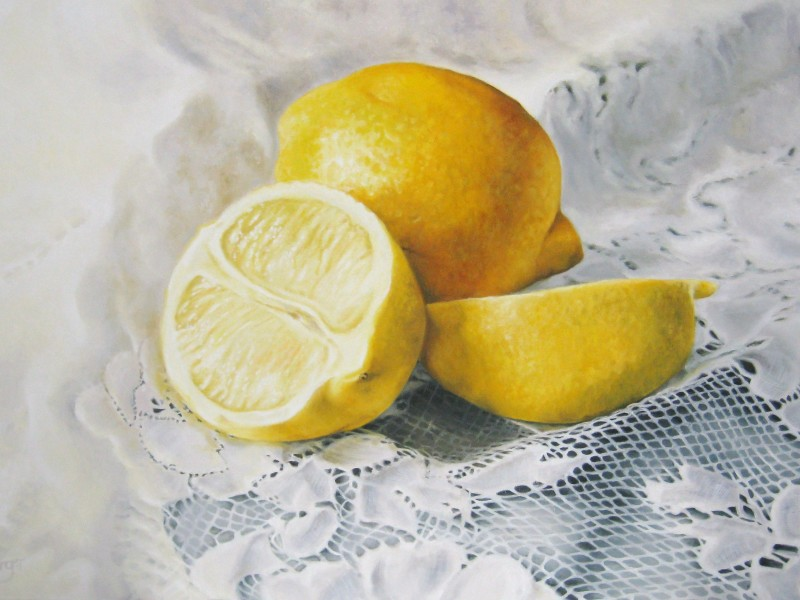 Lemons on Lace